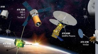 Orbital ATK's family of small satellite buses