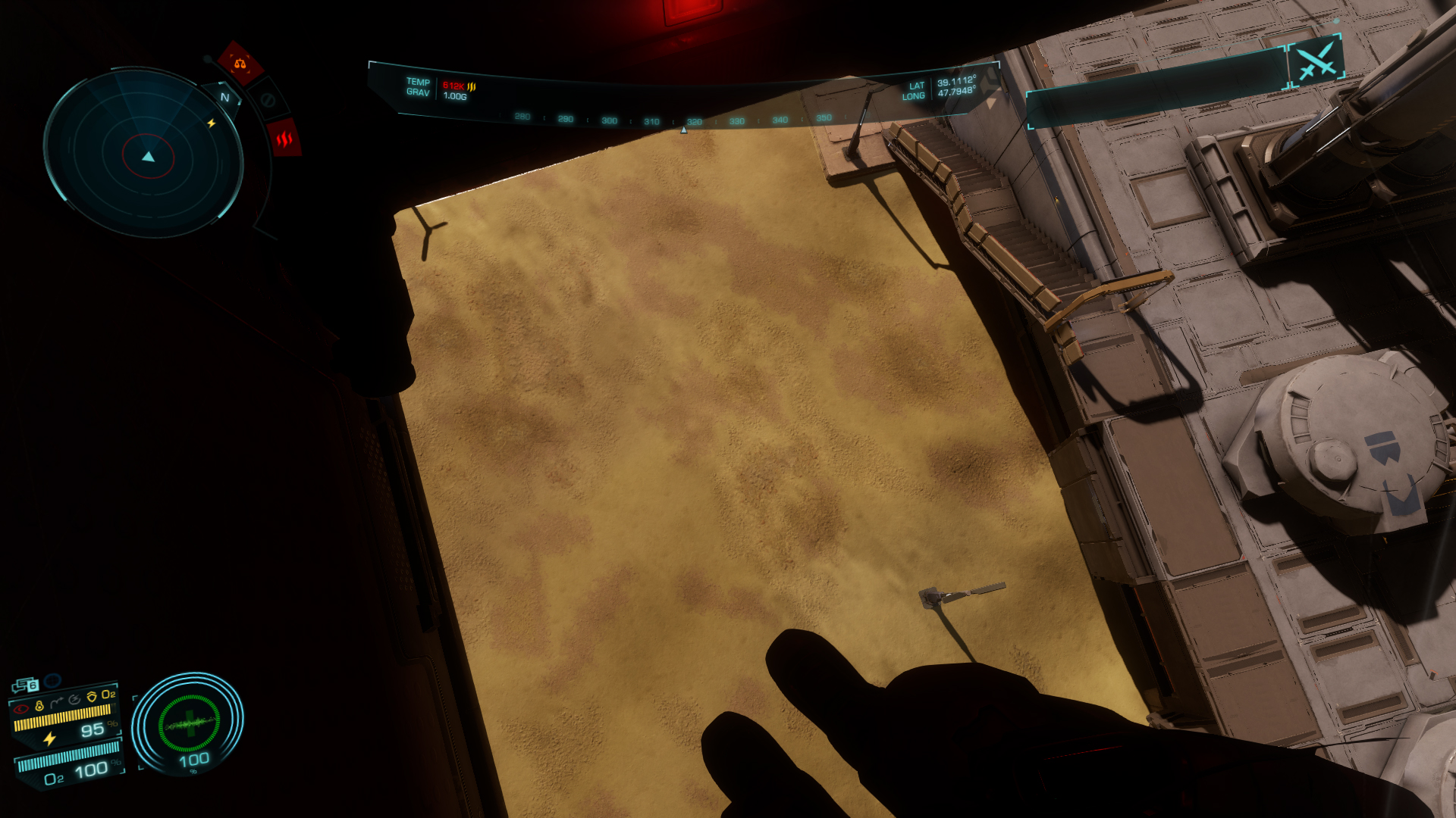 Screenshots Of The Combat Drops In Elite Dangerous Odyssey Alpha Phase 2