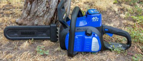 Kobalt KCS 120-07 40 Volt Cordless Electric Chainsaw review