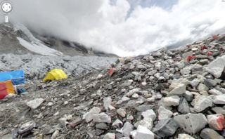 Google Maps reveals views from Everest base camp