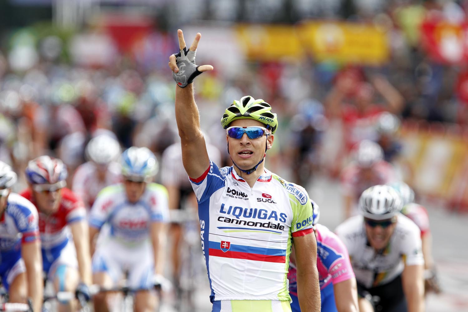 Peter Sagan wins final stage, Vuelta a Espana 2011, stage 21