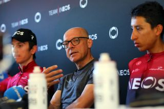 Team Ineos manager Dave Brailsford