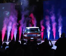 Pyrotek Gears it up for Ford's Reveal at the 2008 Auto Show in Toronto: