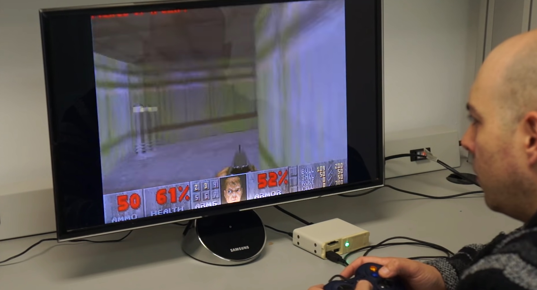 The PC Classic is a tiny console for DOS games