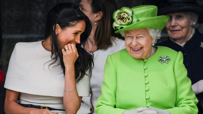 The Queen and Meghan Markle