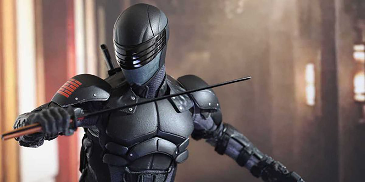 Snake Eyes with a sword