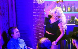Bethany has a flashback to her traumatic past and lashes out at the club