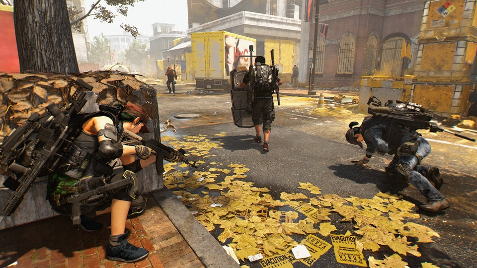 The Division 2 beta apparently needs a restart every two to three