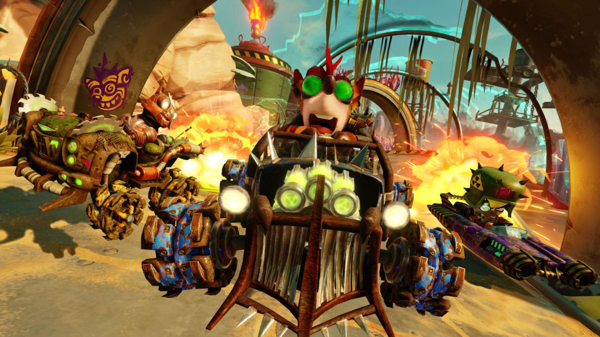 Crash Team Racing Nitro-Fueled's new Grand Prix seasonal event is live, and here's the trailer