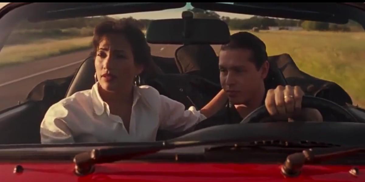 Jennifer Lopez and Jon Seda in Selena the movie