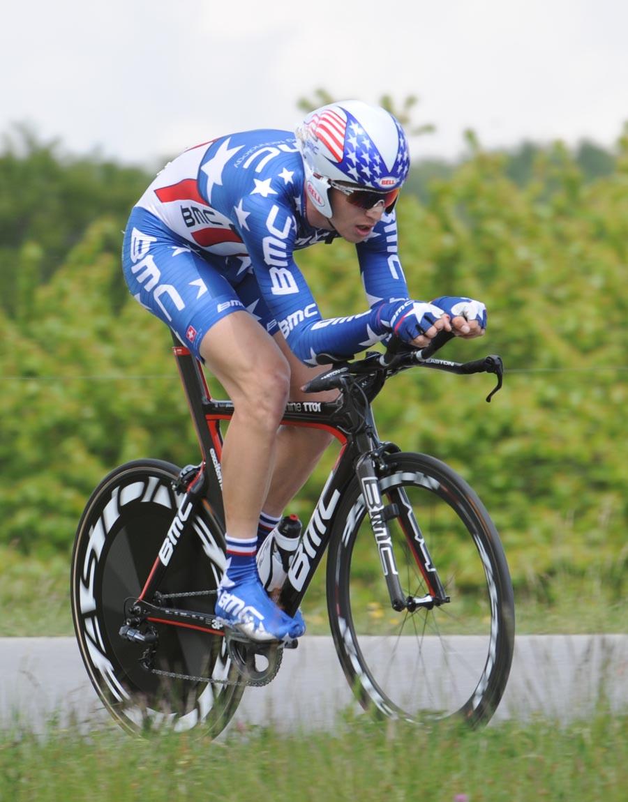Taylor Phinney, Tour de Romandie 2011, stage four ITT