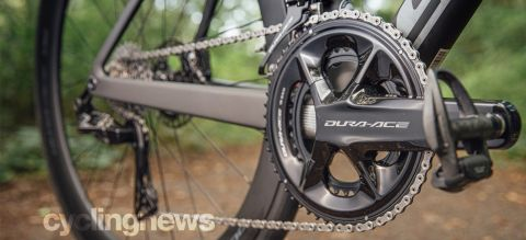 Shimano Dura-Ace R9200 close up outside in a forest setting