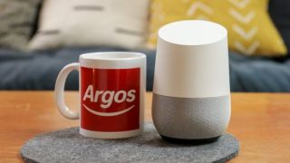 Argos mug with Google Home speaker