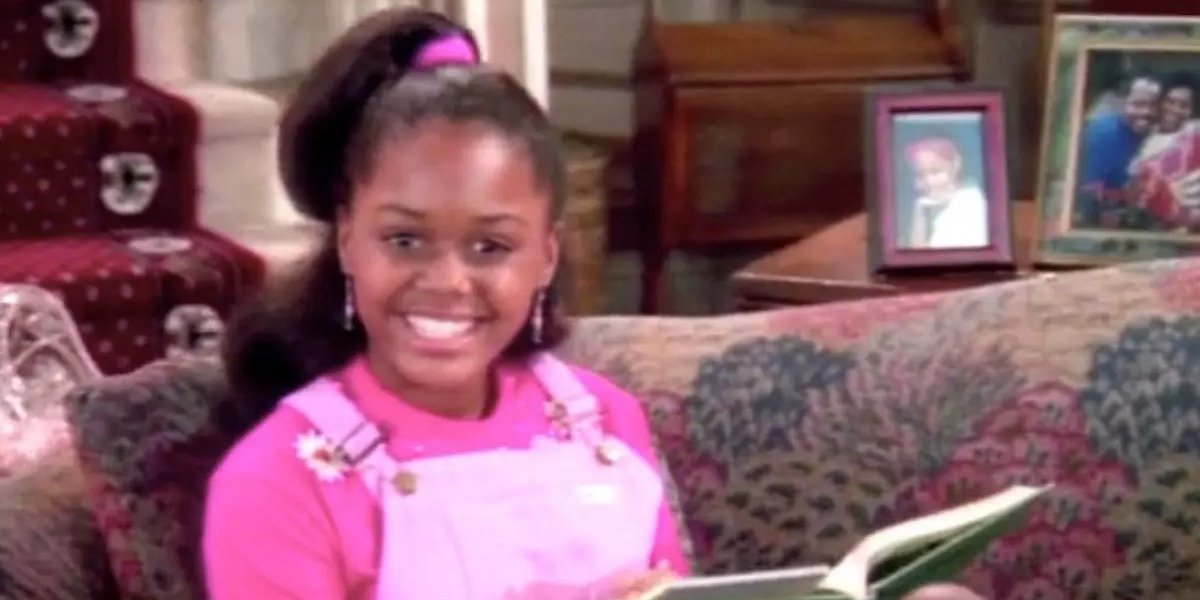 Jaimee Foxworth as Judy Winslow in the opening credits for Family Matters