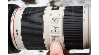Make the most of Canon's Image Stabilization system