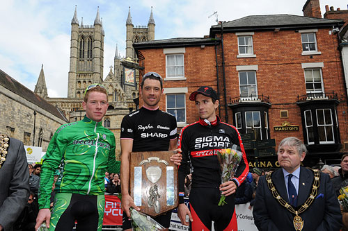 Chris Newton tops podium, Lincoln Grand Prix 2010