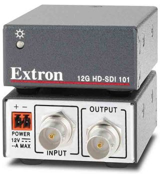 New Extron 12G-SDI Cable Equalizer Supports 4K Video