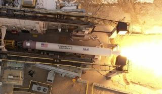 Northrop Grumman conducted a validation test of its GEM 63XL rocket motor on Jan. 21, 2021, at its Promontory, Utah, facility. The GEM 63XL will support the United Launch Alliance's Vulcan Centaur launch vehicle.
