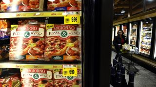 Americans are hoarding more than just toilet paper during quarantine - there's now a shortage of frozen pizza