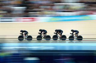 New Zealand women's Team Pursuit squad