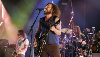 My Morning Jacket perform at Forest Hills Stadium on September 10, 2021 in New York City