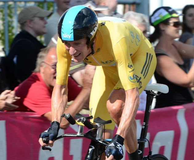 Bradley Wiggins, Tour de France 2012, stage nine