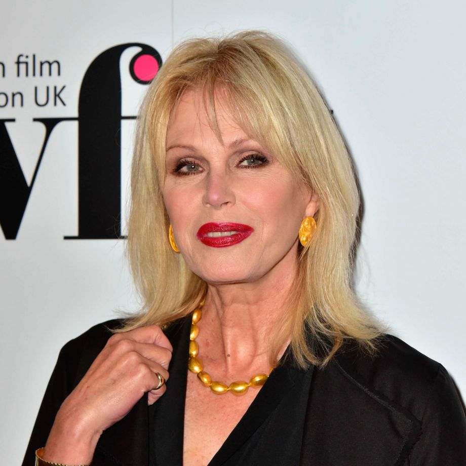 Baftas Host Joanna Lumley Rejects Times Up All Black Dress