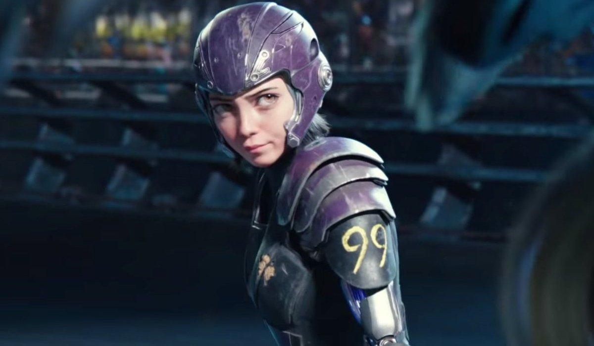 Alita: Battle Angel Alita armored up for Motorball