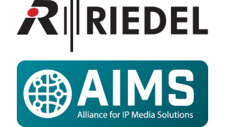 Riedel Communications joins AIMS