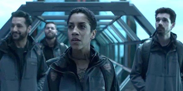 The Expanse Season 4 clip scene Alex Amos Naomi Holden Amazon