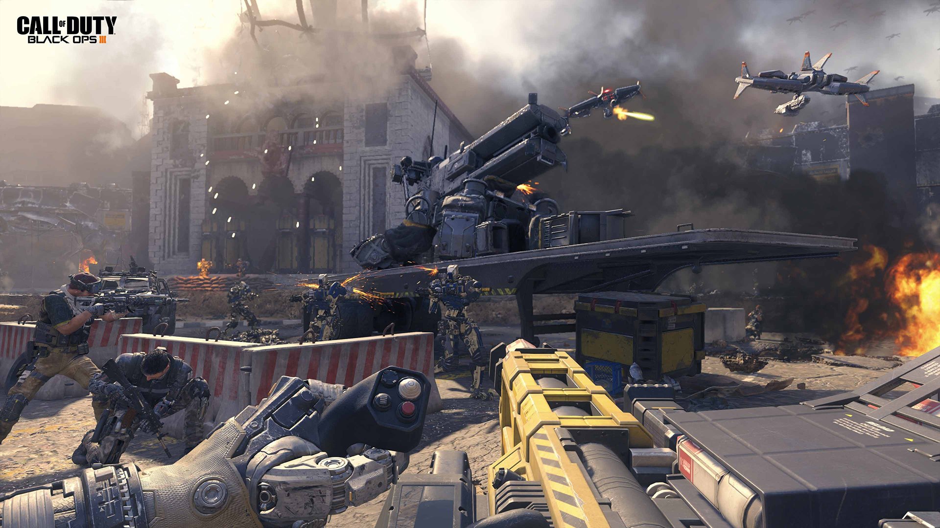 Call Of Duty: Black Ops 3 Screenshots Introduce Super-Soldiers And Robots  #32757