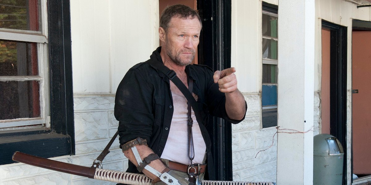 michael rooker merle the walking dead season 3