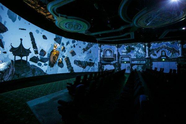 Kung Fu Panda The Emperor's Quest DreamWorks Theatre Universal Studios