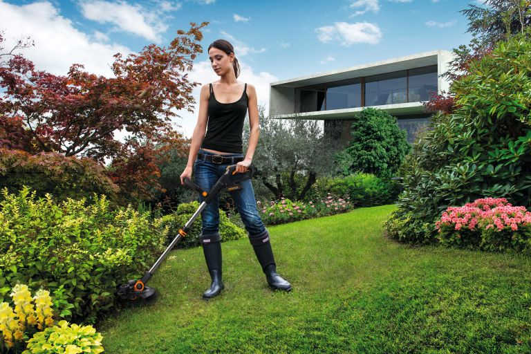 Worx 20V MAX Cordless GT3 Grass Trimmer – WG163E