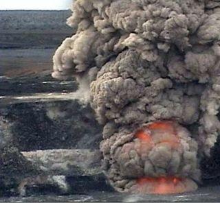 mount kilauea 2008 explosion