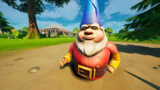 dig up gnomes fortnite