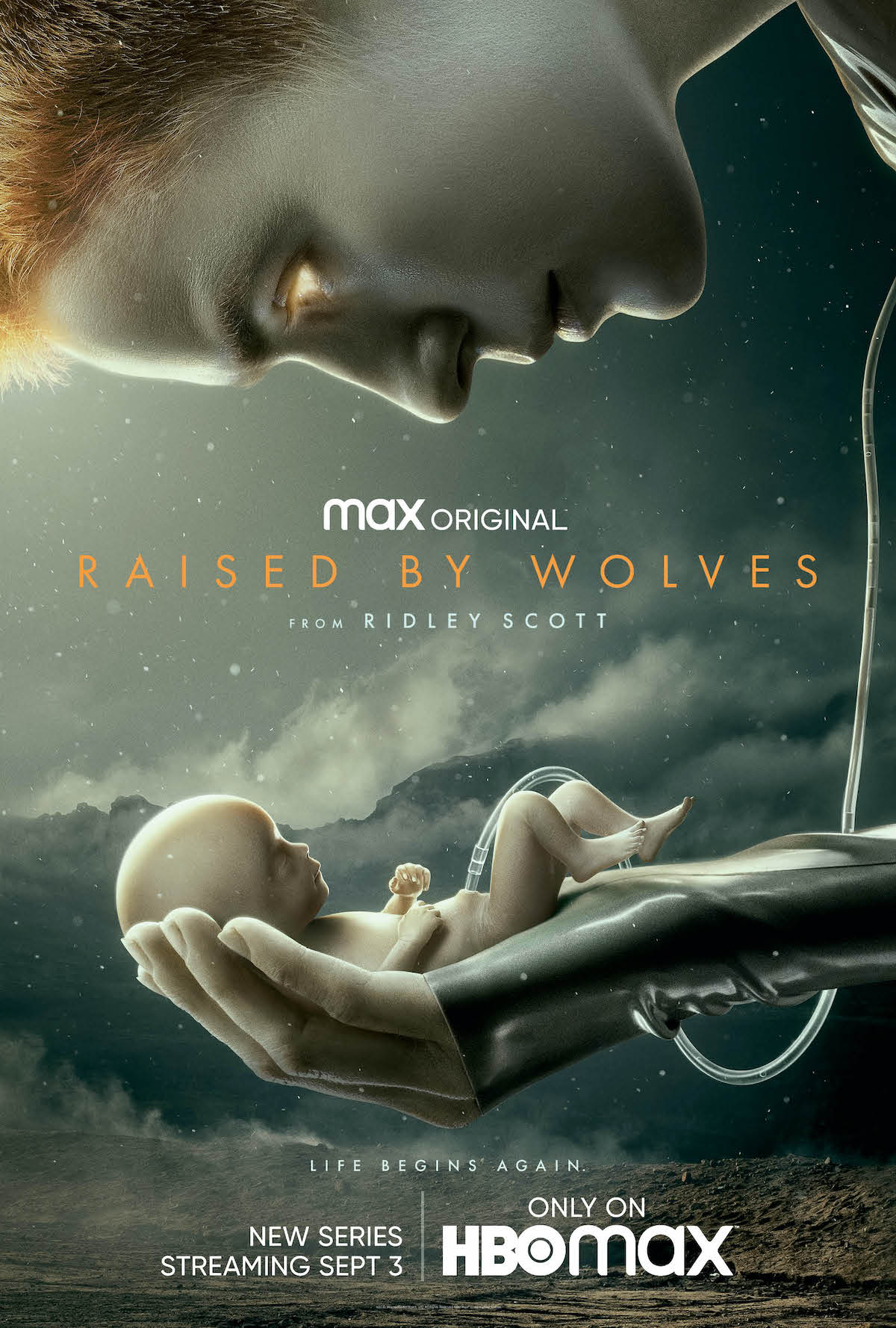 raised by wolves first poster hbo max