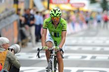 Moreno Moser was impressive on the Alpe d'Huez stage