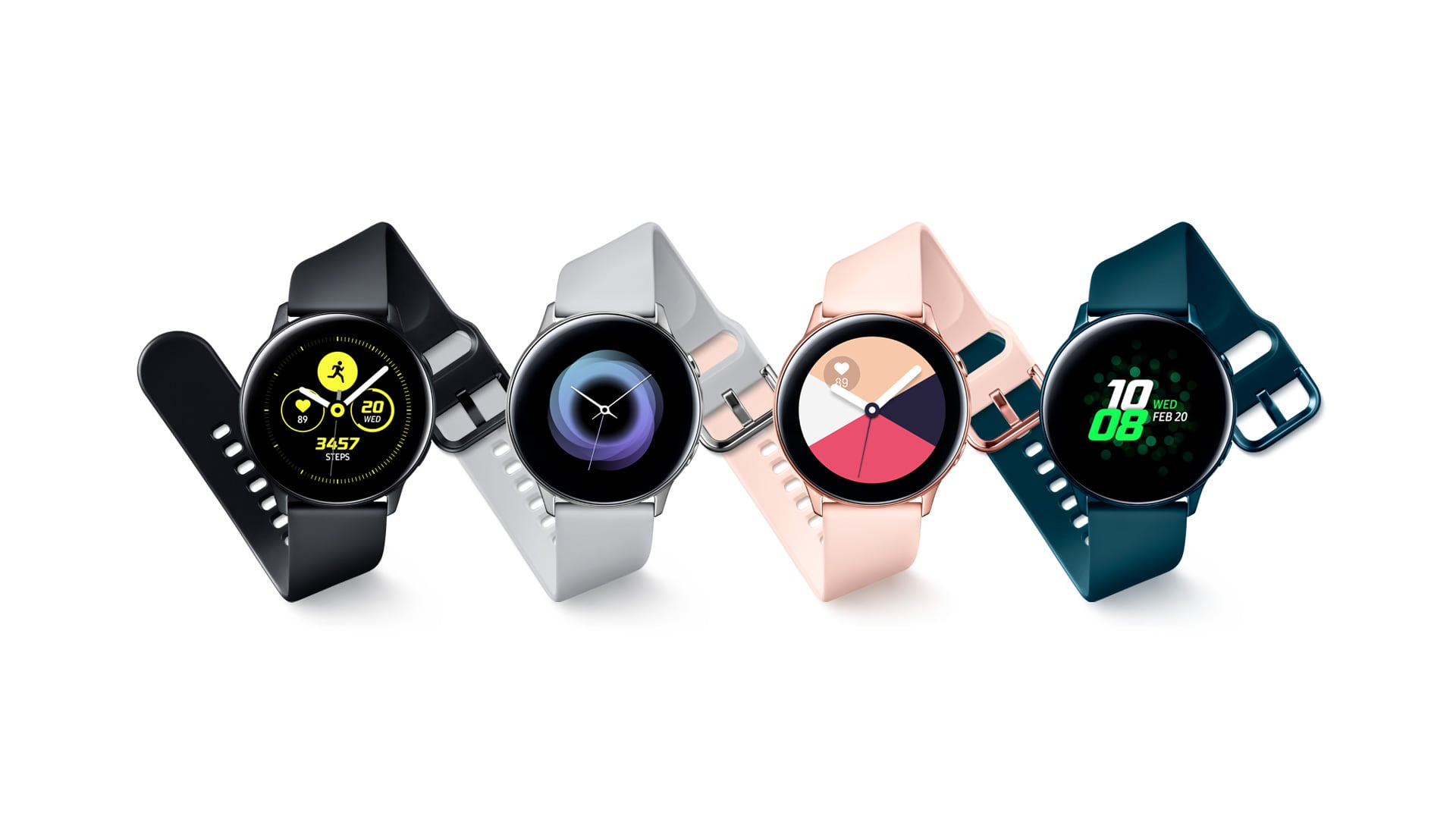 Samsung Galaxy Watch Active 2 Tipped For August In 3 Models But No Ecg Until 2020 Techradar