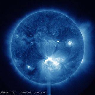 X1.4 Class Solar Flare of July 12, 2012 #2