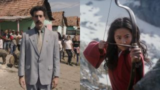 Borat Subsequent Moviefilm and the live-action remake of Mulan