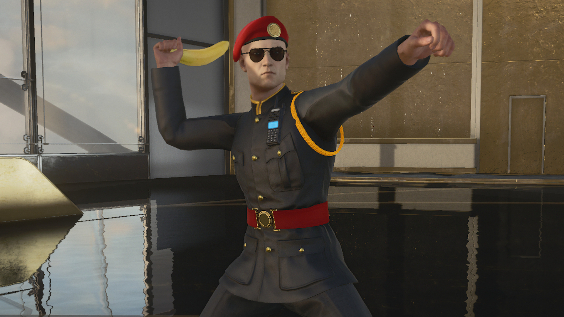 Hitman 3's banana is one of the best weapons in the game