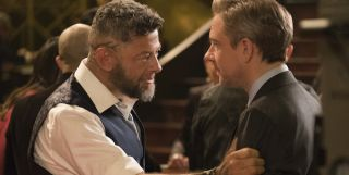 Ulysses Klaue and Everett Ross in Black Panther