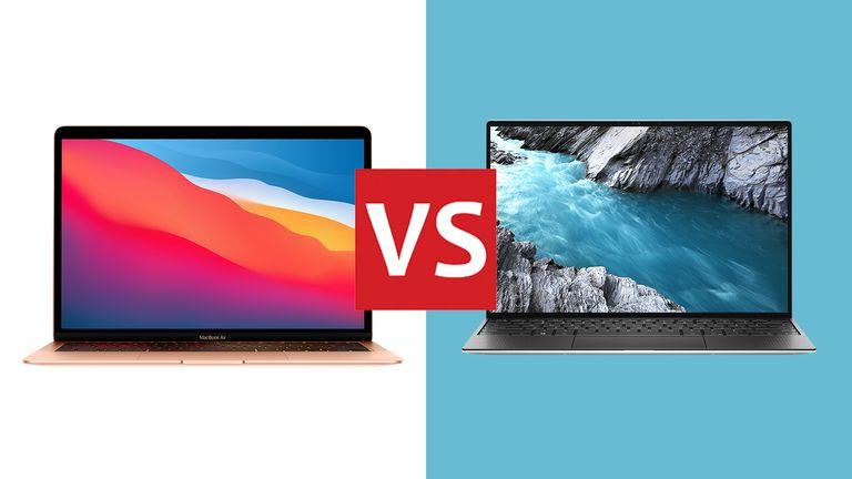 Dell XPS 13 2020 vs Apple MacBook Air 2020