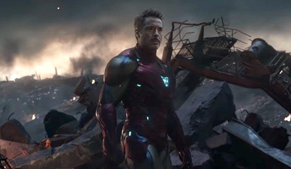 Robert Downey, Jr as Iron Man in Avengers: Endgame