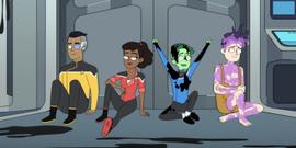 Star Trek: Lower Decks Exclusive Clip Gives First Look At Haley Joel Osment's New Lieutenant