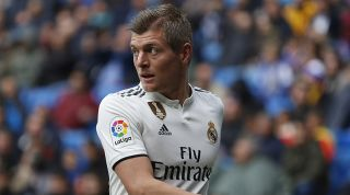 Toni Kroos Real Madrid Manchester United