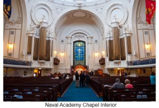 Historic Navy Chapel Upgrades Coverage and Intelligibility