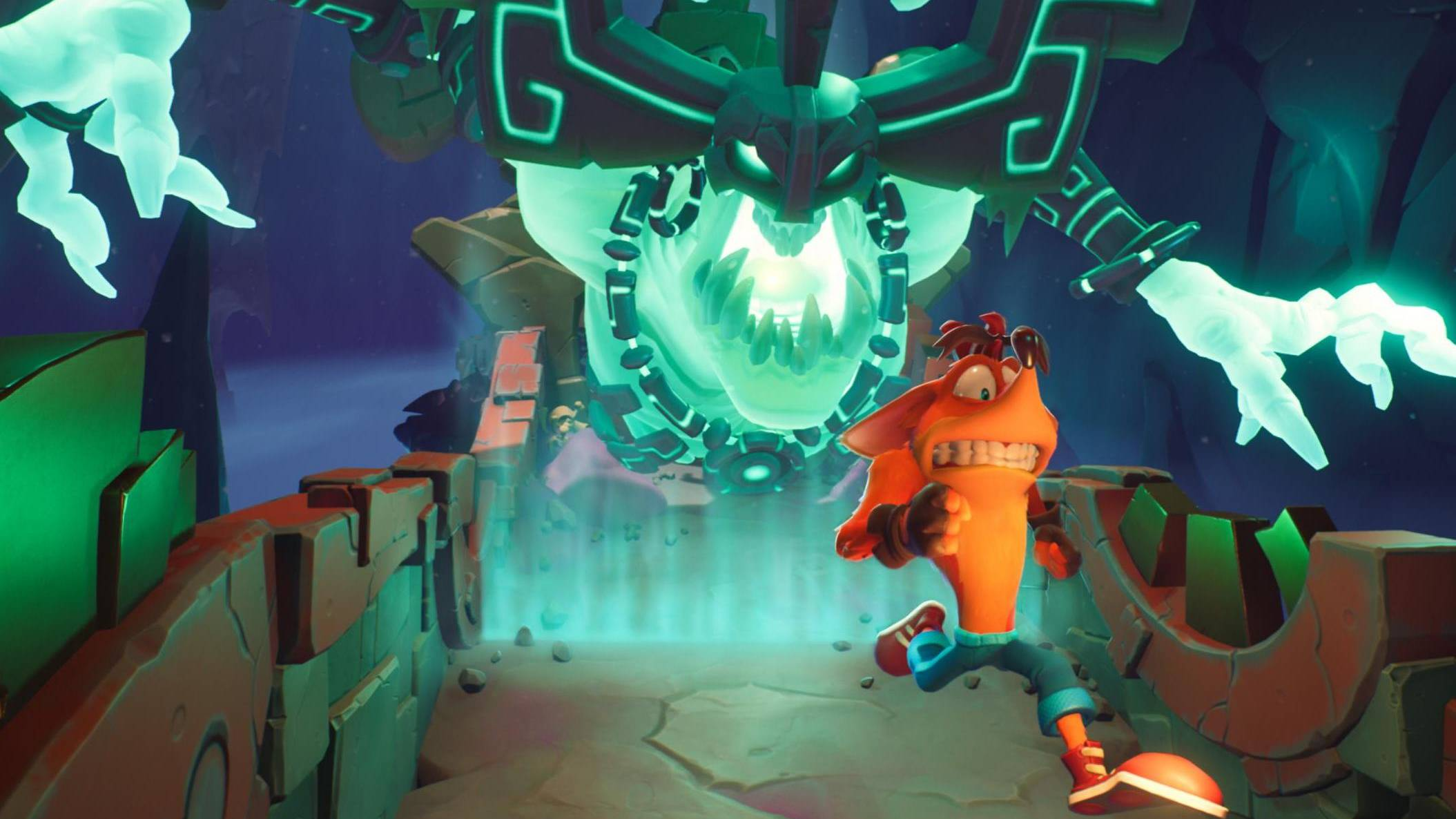 Crash Bandicoot 4 run level