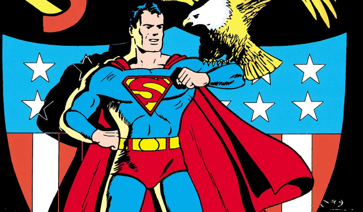 Superman in the Golden Age, comic books